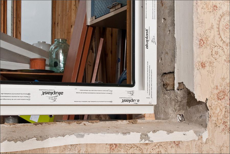 """Как установить пластиковое окно на балконе """" ремонтные и отд."""